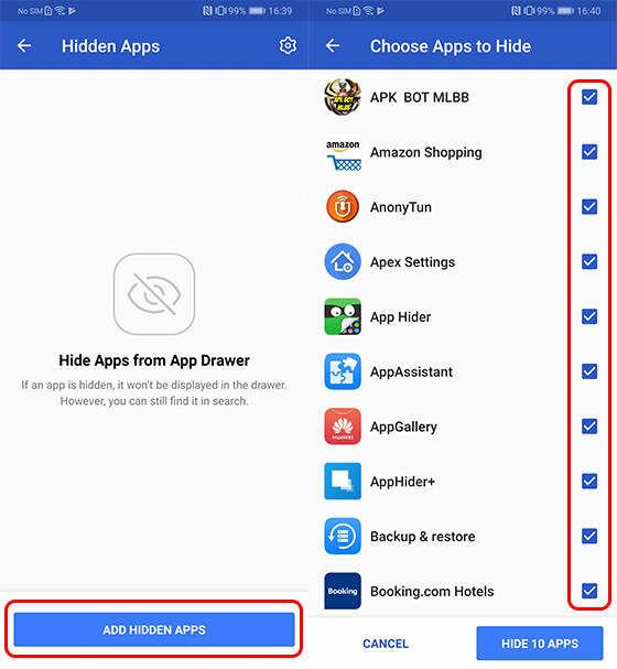 Cara Menyembunyikan Aplikasi Di Xiaomi Apex 2 Ab217
