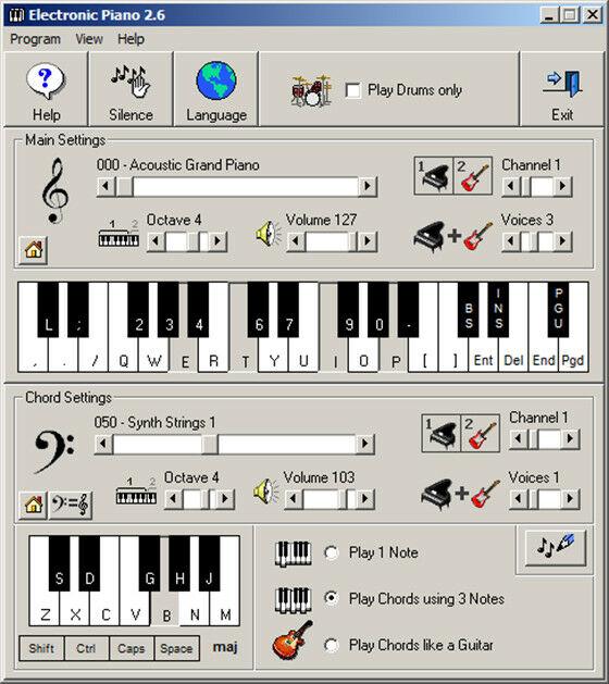 Electronic Piano 1 B3a34