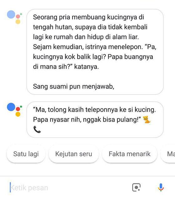 Lelucon Receh Ala Google Assistant 15 1c736