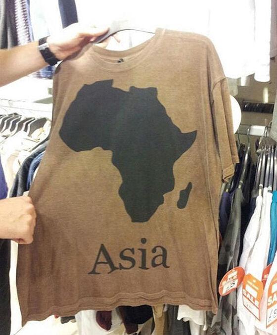 Ini Harusnya Benua Afrika