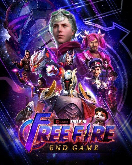 HP25 Free Fire End Game Custom F972b