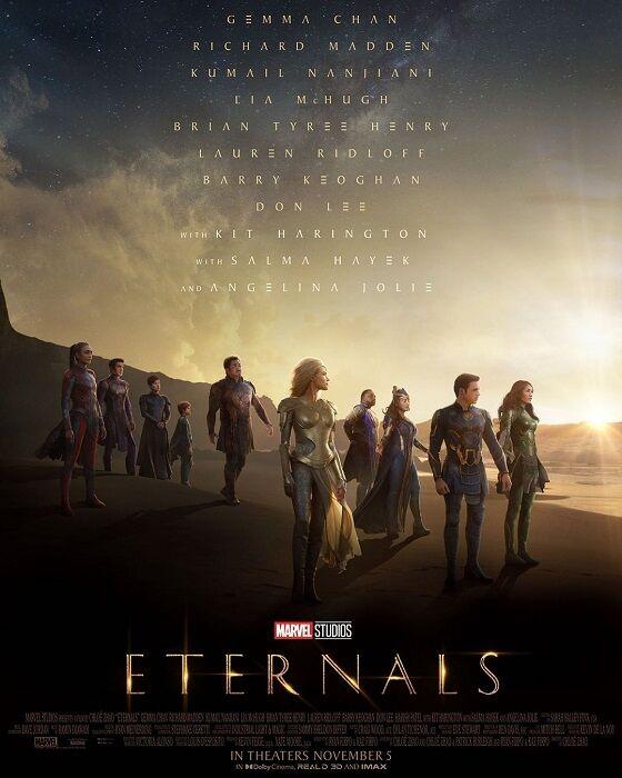 Poster The Eternals D042d