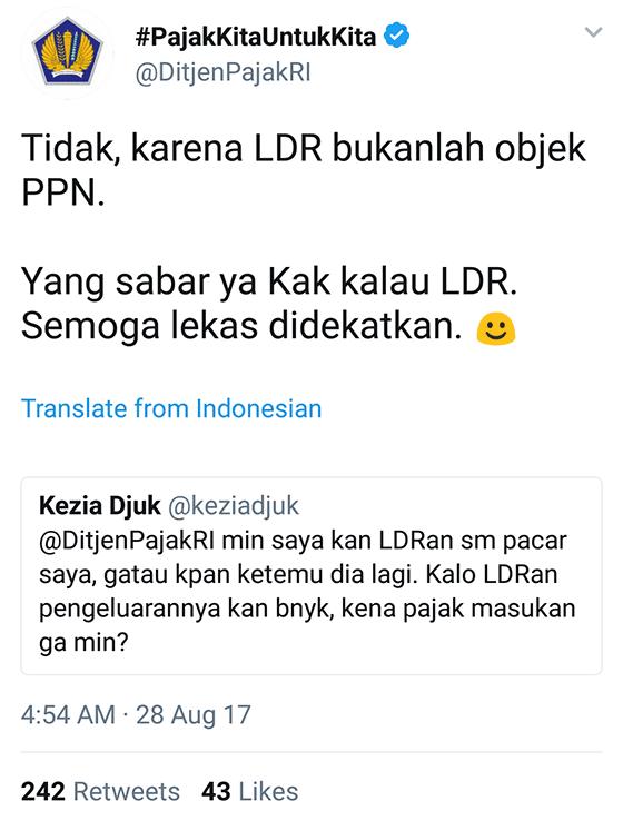 Tweet Kocak Ditjenpajakri 13
