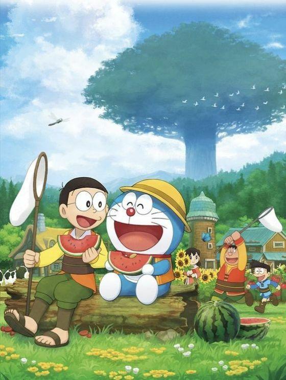 Download Wallpaper Doraemon 08 D2ee3