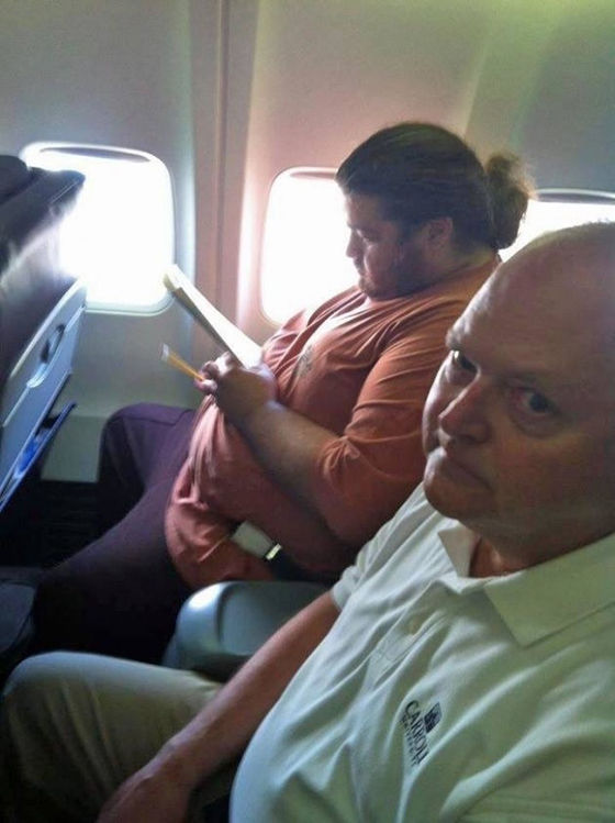 Foto Kejadian Unik Penerbangan 05