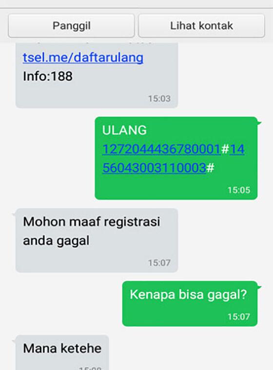 Meme Gagal Registrasi 09