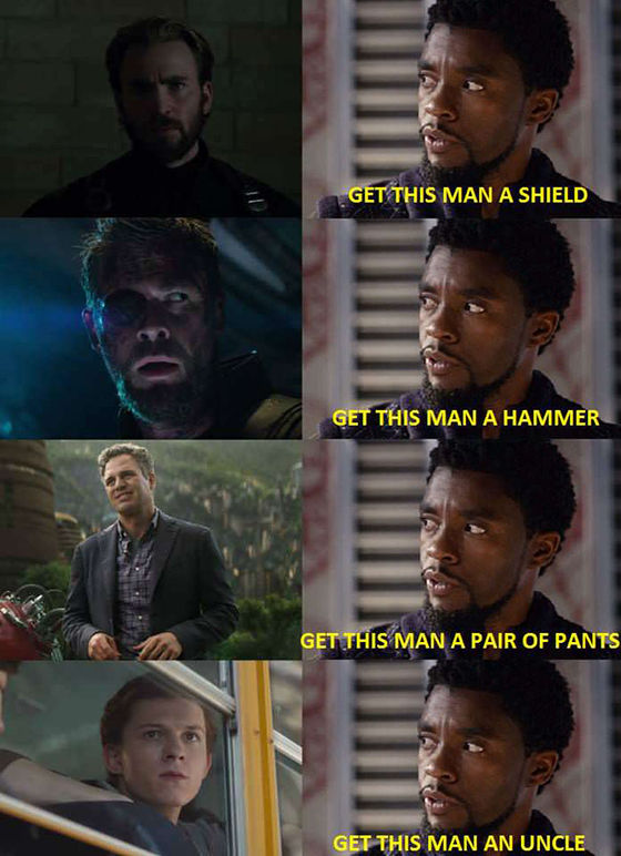 Meme Black Panther 10