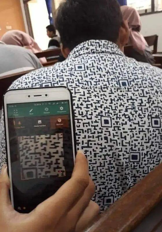 Kemeja QR Code 72ae1