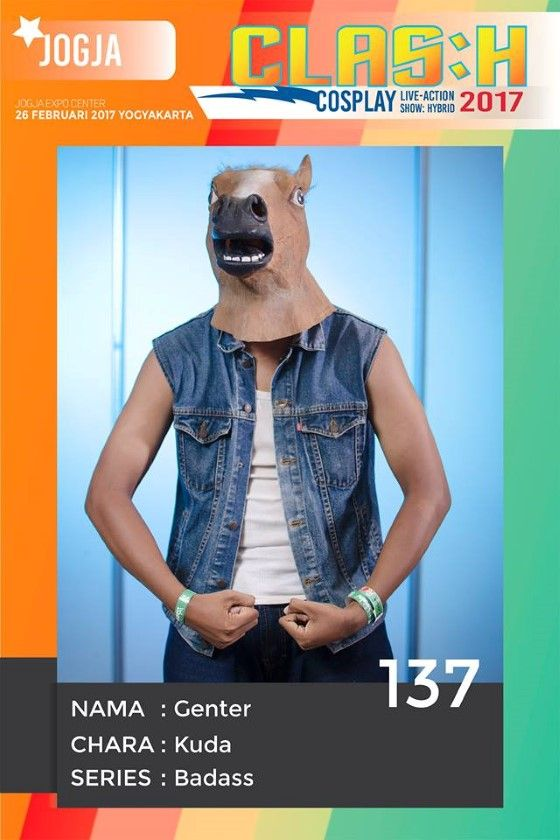 Cosplay Kocak Kuda 5103e