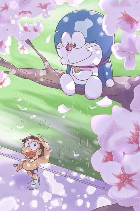 wallpaper doraemon love 04 4d699