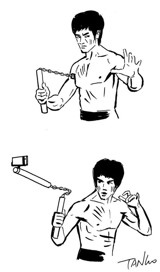 Senjata Baru Bruce Lee