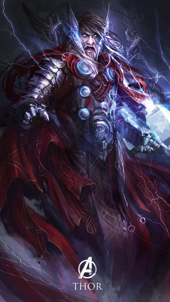 Thor The Avengers Dewa Yunani
