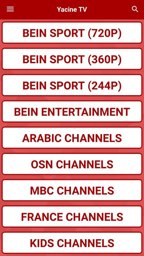 Yacine Tv Apk Mod 31549