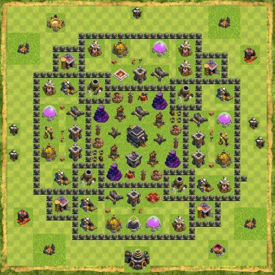 Base War Coc Th 9 11