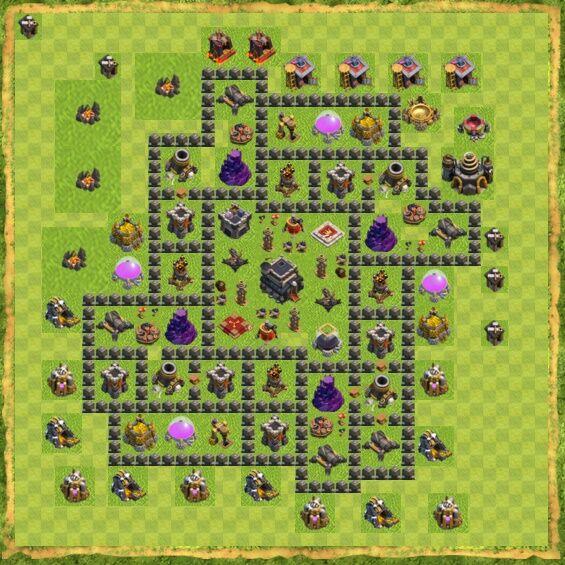 Base War Coc Th 9 14