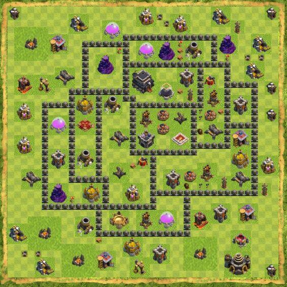 Base War Coc Th 9 16