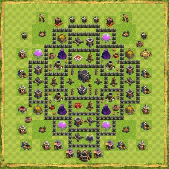 Base War Coc Th 9 27