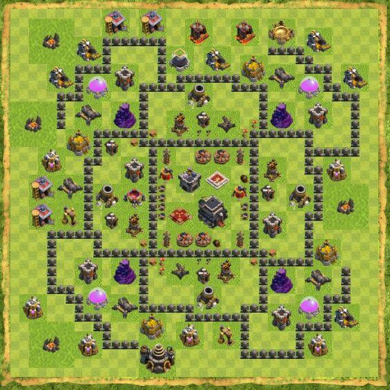 Base War Coc Th 9 28