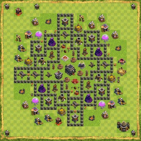 Base War Coc Th 9 3