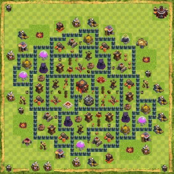 Base War Coc Th 10 1