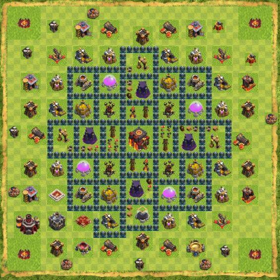 Base War Coc Th 10 15