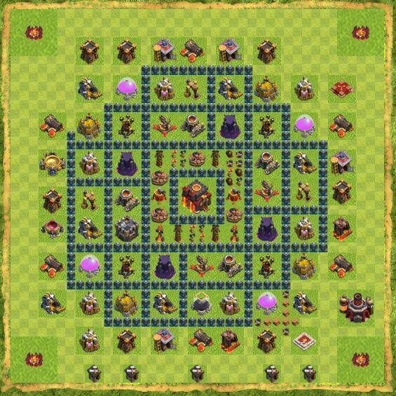 Base War Coc Th 10 16