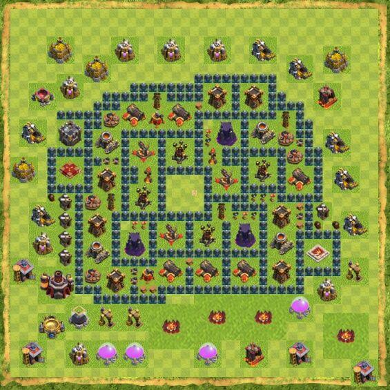Base War Coc Th 10 18