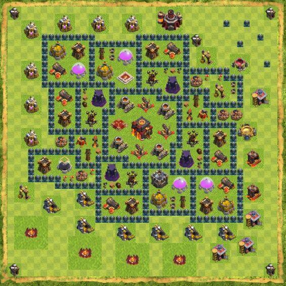 Base War Coc Th 10 22