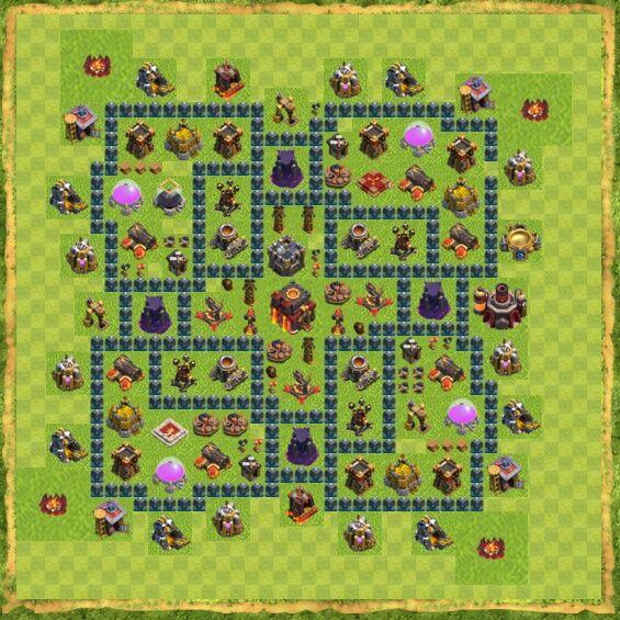 Base War Coc Th 10 23