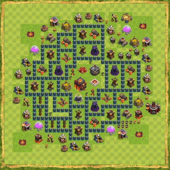 Base War Coc Th 10 28