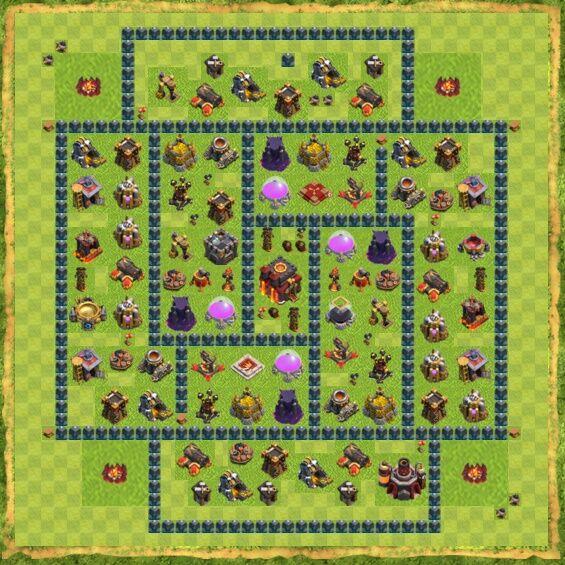 Base War Coc Th 10 3