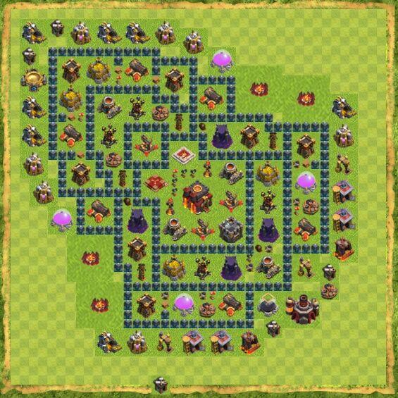 Base War Coc Th 10 31