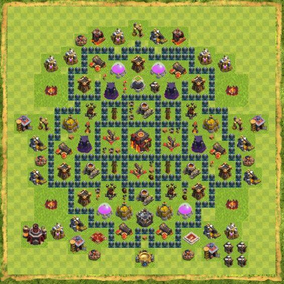 Base War Coc Th 10 41