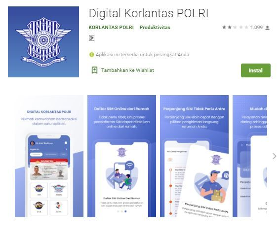 Aplikasi Digital Korlantas POLRI 15786
