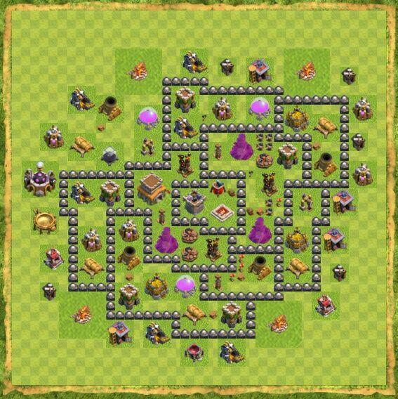 Base War Coc Th 8 14