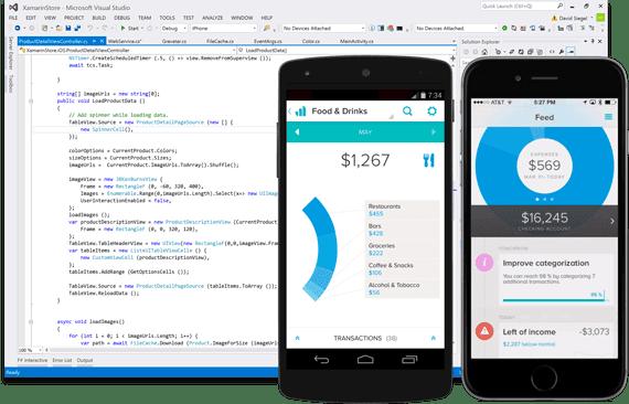 Xamarin Android Emulator 1