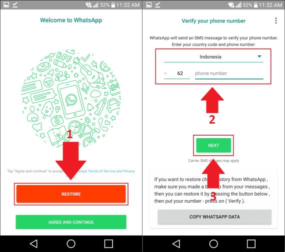 Cara Menyembunyikan Pesan Whatsapp 4 5f46c
