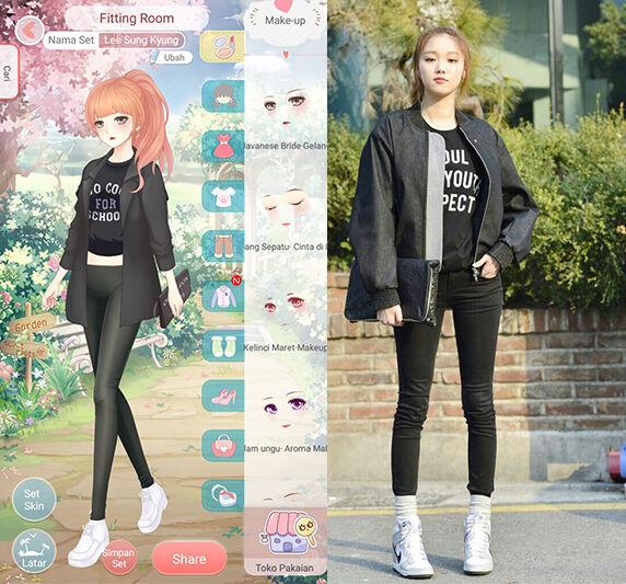 Seleb Korea Tiru Gaya Dress Up Diary 3
