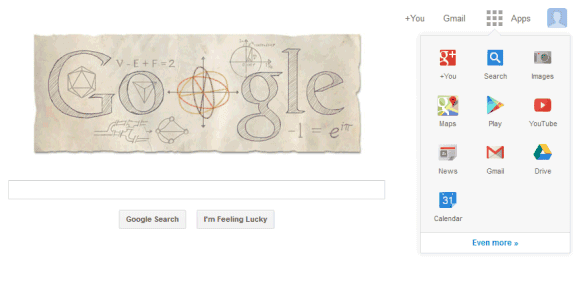 Google Update Tampilan Homepage 2