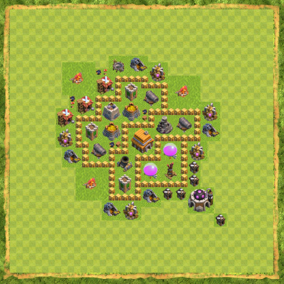 Base Defense Coc Th 5 19