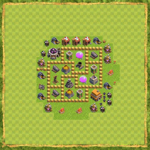 Base Farming Coc Th 5 15