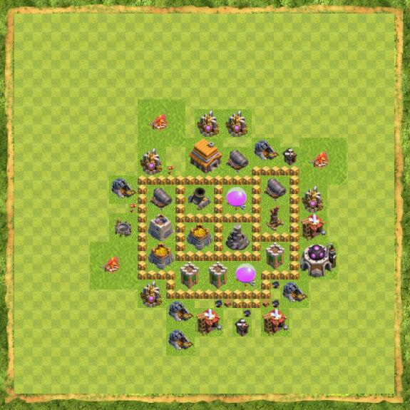 Base Farming Coc Th 5 22