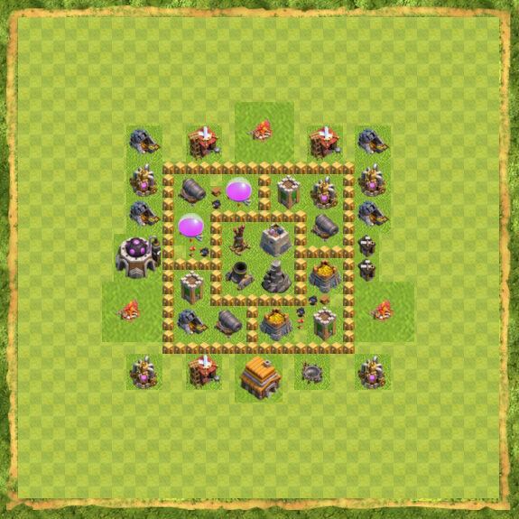 Base Farming Coc Th 5 23