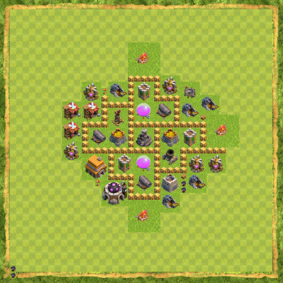 Base Farming Coc Th 5 31