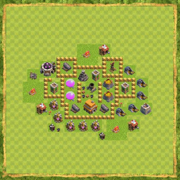 Base War Coc Th 5 15