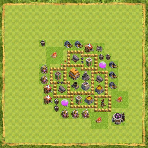 Base War Coc Th 5 27