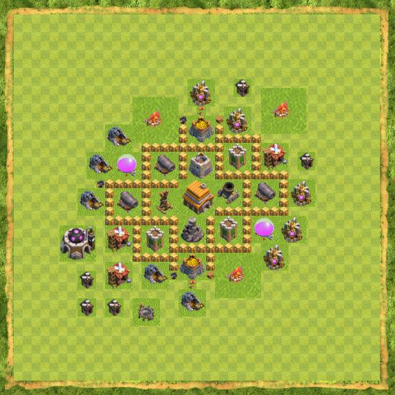 Base War Coc Th 5 28