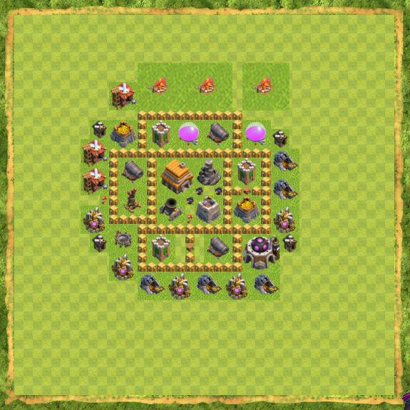Base War Coc Th 5 39