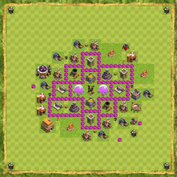 Base Farming Coc Th 6 19