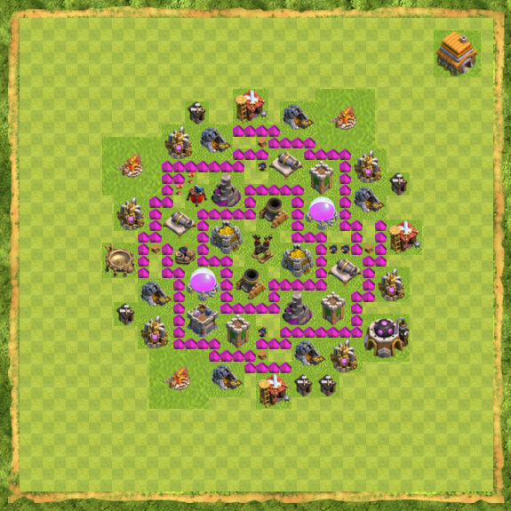 Base Farming Coc Th 6 2